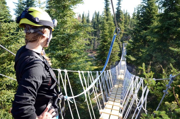 NEW zip line opening near Prince Albert National Park at Elk Ridge this summer!