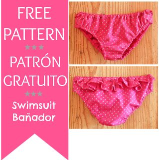 PATRÓN BRAGUITA-BAÑADOR 4ELC GRATUITO - SWIMSUIT FREE PATTERN