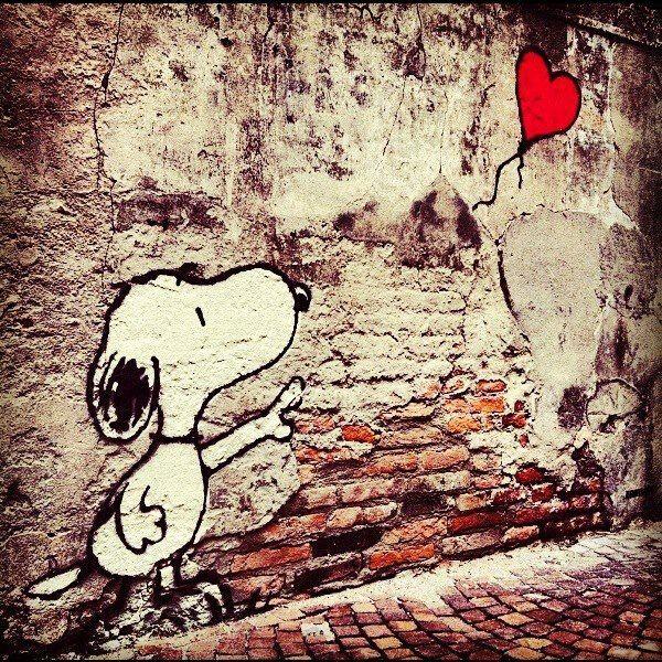Snoopy LOVE Artwork