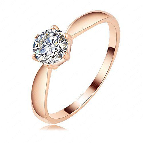 Sale Preis: AnaZoz Schmuck Ich Liebe Dich Hochzeits Verlobungsring 18K Rosa Gold Plattiert Trauringe. Gutscheine & Coole Geschenke für Frauen, Männer & Freunde. Kaufen auf http://coolegeschenkideen.de/anazoz-schmuck-ich-liebe-dich-hochzeits-verlobungsring-18k-rose-gold-platin-ueberzogene-ring