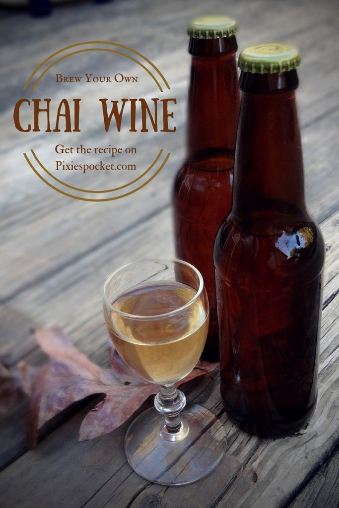 Spiced Chai Wine from pixiespocket: oh, man. I really like this stuff! Want to make your own batch of Chai Wine?