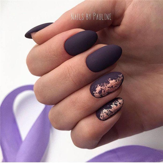 Winter Fingernail Designs: 100 Pretty Winter Nail Design Ideas 2019