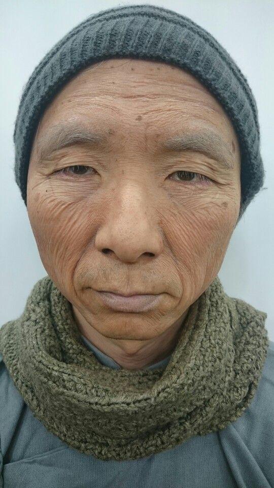 Aging make up- latex
