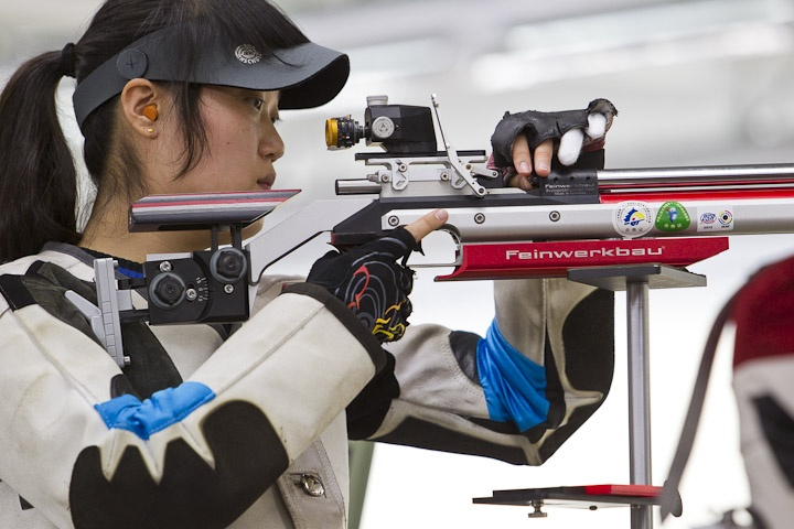 feinwerkbau modle 800 used by many gold medalist shooter from issf