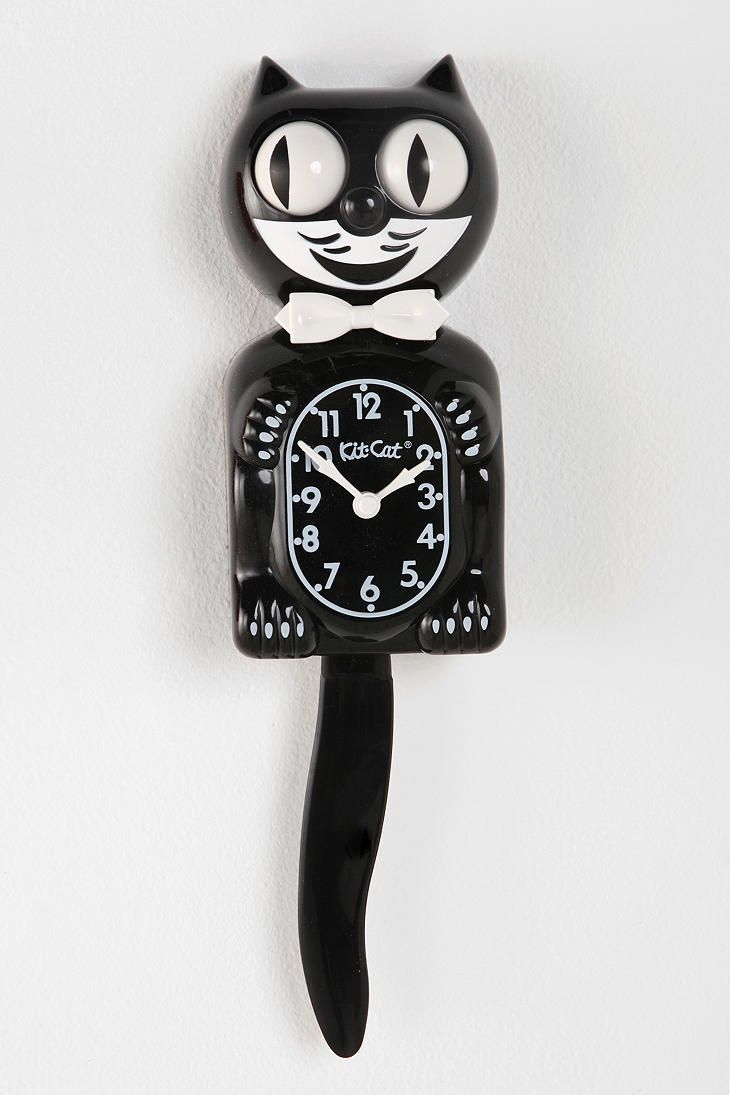 Best 25 cat clock ideas on pinterest kit kat clock go to clock old fashioned kitty clock amipublicfo Gallery