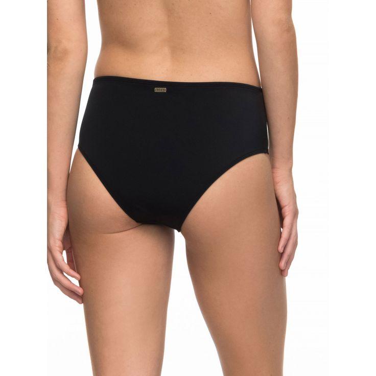 Womens Roxy Essentials Mid Waist Separate Bikini Pant ERJX403469 ROXY