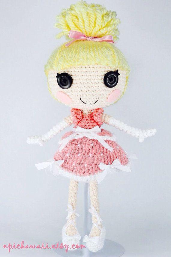 CUSTOM DOLL Lalaloopsy Amigurumi Doll by epickawaii on Etsy
