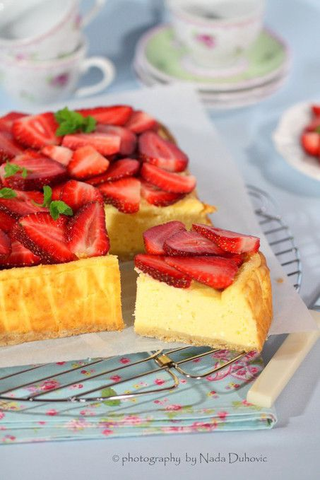 Just good food: Cheesecake s jagodama: Good Food, Cheesecake Wonder, Desserts Recipes, Croatian Food, Strawberries Cheesecake, Strawberry Cheesecake, Croatian Recipes, Burchett Cakes, Cheesecake Recipes