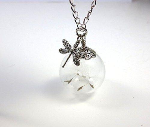 Diese Pusteblume Kette ist ein wunderschönes Geschenk für Frauen. Voller Eleganz und Schönheit. Egal ob zum Valentinstag, Frauentag oder zwischendurch.