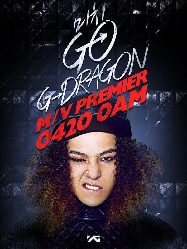 "G-Dragon confirms ""Michi GO"" MV release date as 4/20"