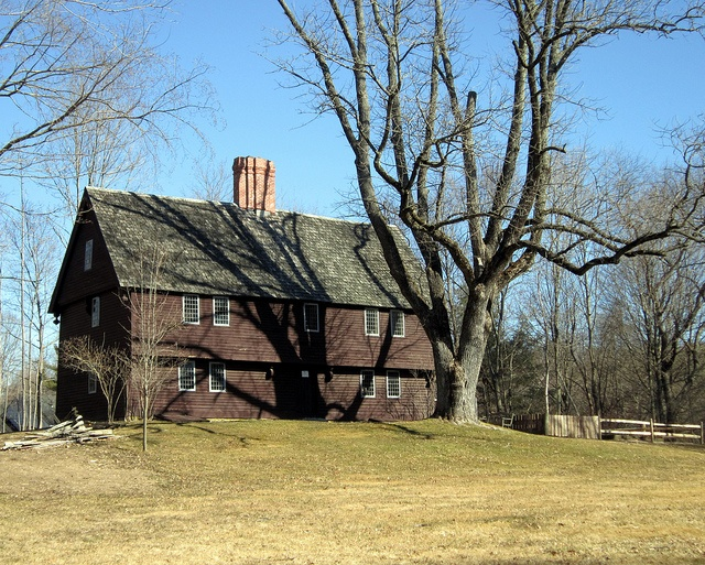 The Parson Capen House is a historic house in Topsfield, Massachusetts that was built on a 12-acre lot in 1683 as the parsonage for the local Congregational Church. The house was declared a National Historic Landmark in 1960. It is one of the best preserved homes from its period in New England. The Topsfield Historical Society currently operates it as a historic house museum.