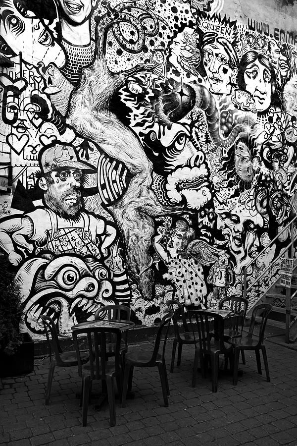 Black Abstract Wall Art