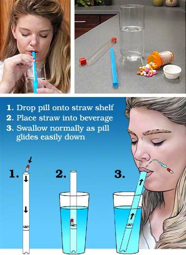 Medi+Straw. Pill swallowing made easy. Even special needs kids whose main nutrients come through a g-tube can take pills through this... super cool!