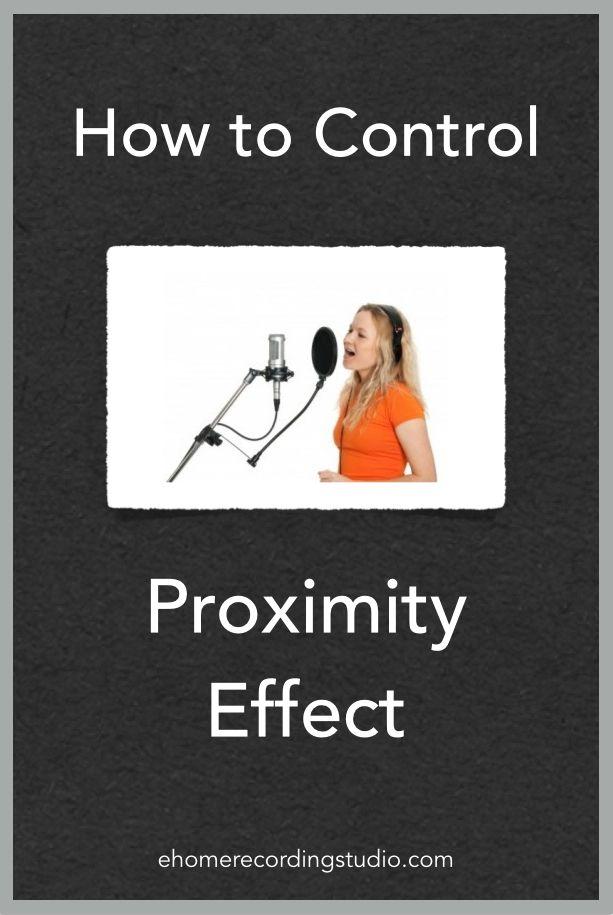 How to Control Proximity Effect http://ehomerecordingstudio.com/proximity-effect/