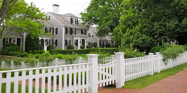 Martha's Vinyard: Vacation, Picket Fence, England Travel, Dream House Dorm, Beautiful Exterior, Cape Cod