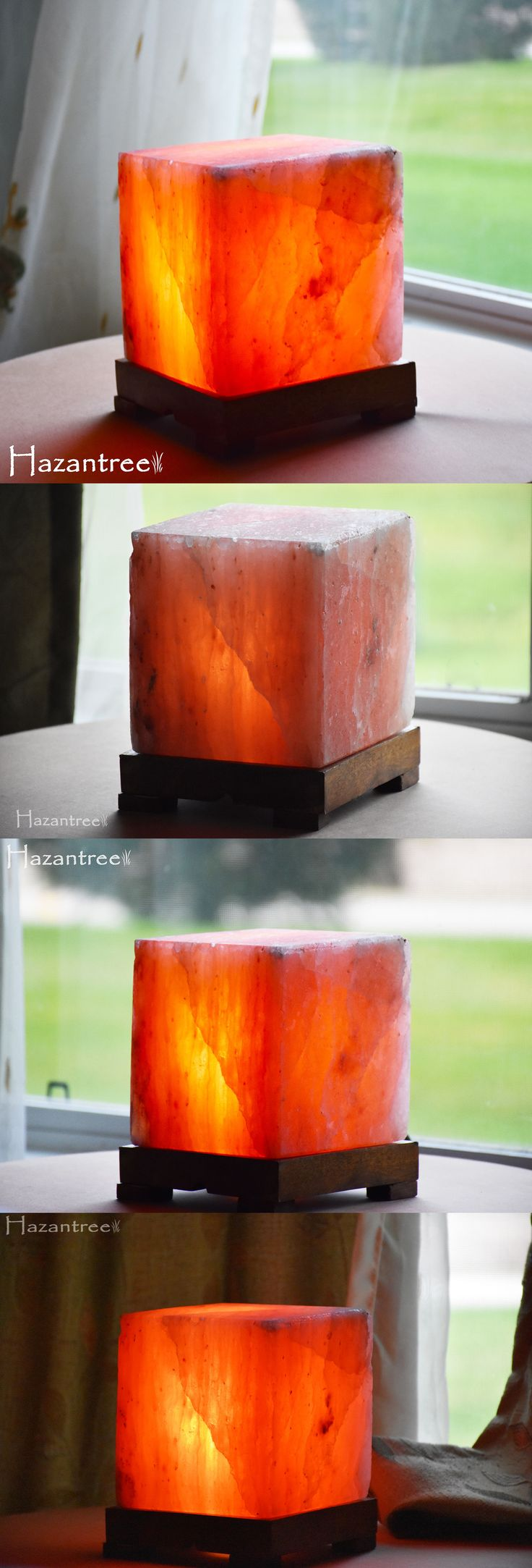 Light Therapy Devices: Hazantree Himalayan Natural Air Purifier Rock Crystal Zencube Salt Night Lamp -> BUY IT NOW ONLY: $47.99 on eBay!