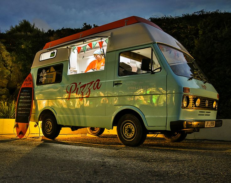 VW LT28 used by The Cornish Pizza Company.