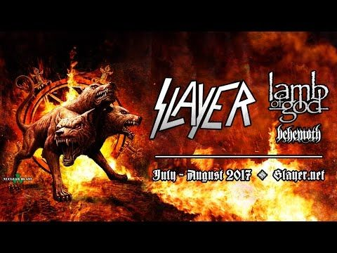 Video trailer for Slayer, Lamb of God and Behemoth tour released