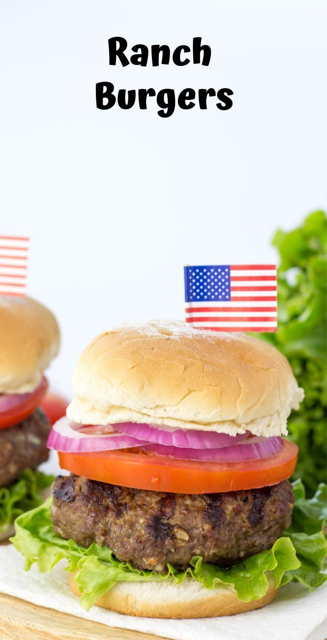 AD HVRANCH RANCH BURGERS MADE WITH HIDDEN VALLEY RANCH