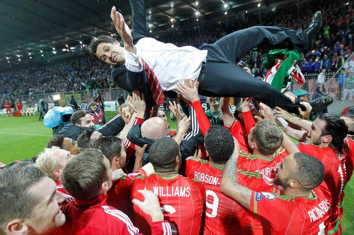 16 epic celebration images from the night Wales made history with Euro 2016 qualification