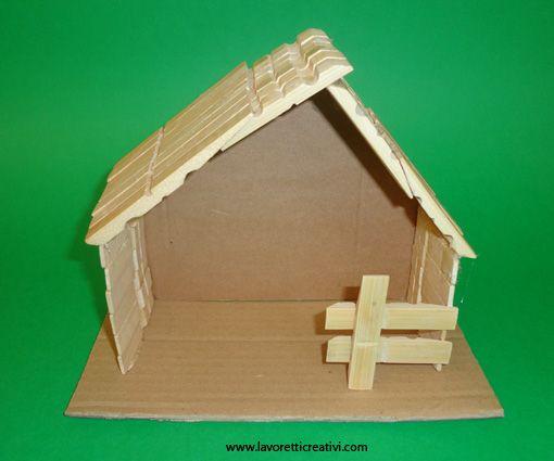 Come realizzare la capanna del Presepe in natale