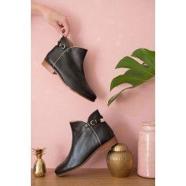 chaussures lazarine noir @ DES PETITS HAUTS