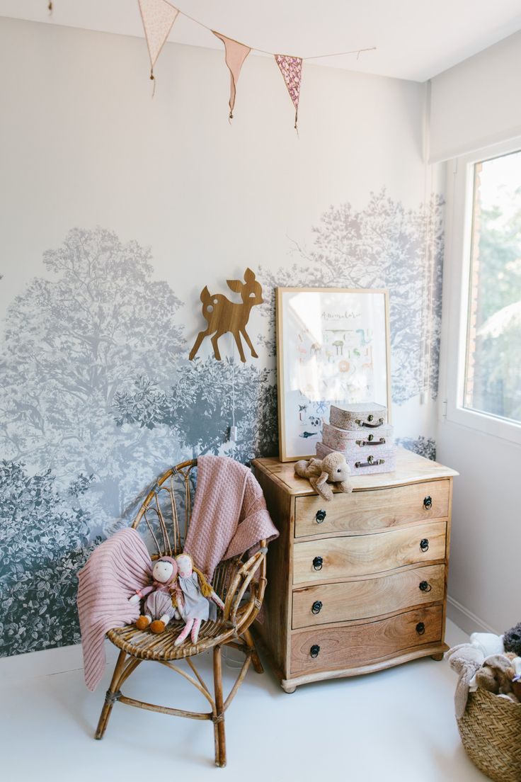 LOVING THIS ABSOLUTELY GORGEOUS NURSERY, SUITABLE FOR EITHER SEX & QUITE BEAUTIFUL & A LITTLE WHIMSICAL!