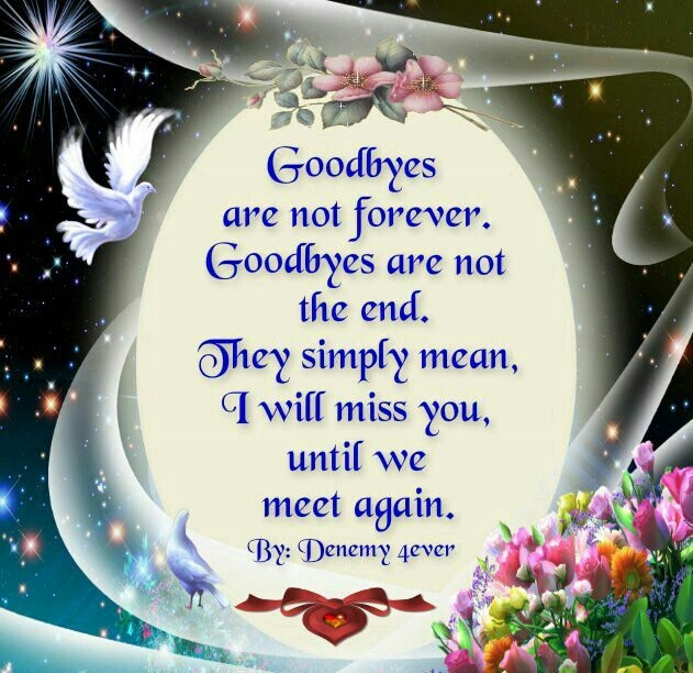bosson we will meet again in heaven