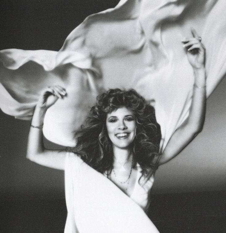 Stevie Nicks, photo by Neal Preston in 1981. HQ scan courtesy of Michael Bise.