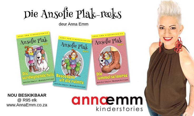 Ansofie Plak leesboeke beskikbaar by www.annaemm.co.za