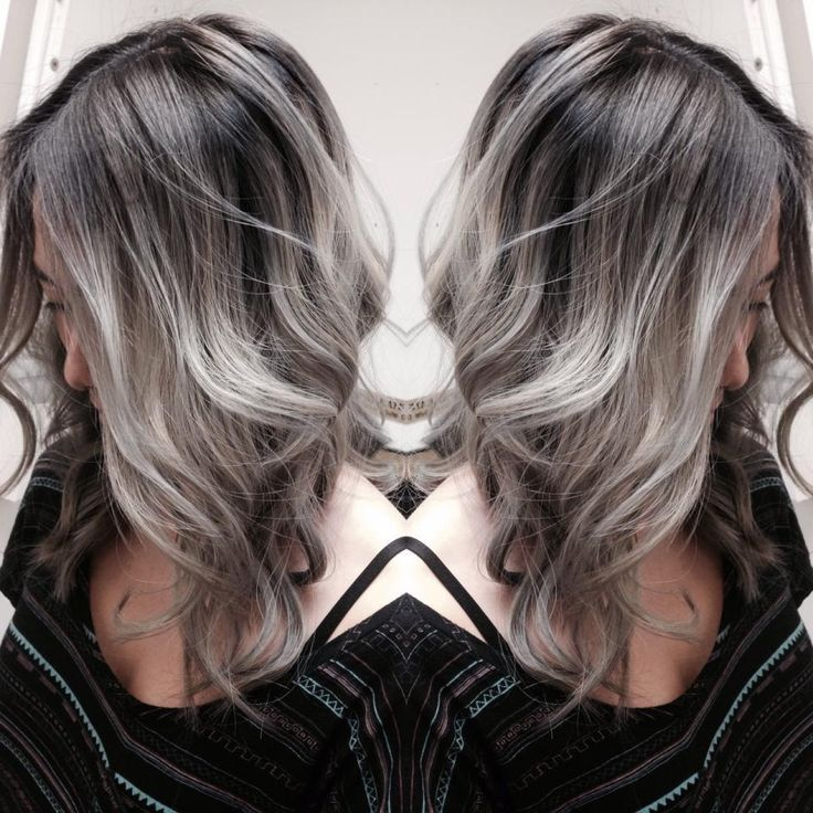 FORMULA: The Perfect Silver Color Melt | Modern Salon