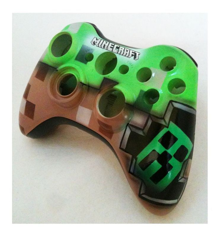MINECRAFT XBOX 360 controller REPLACEMENT shell