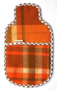 hot water bottle tartan