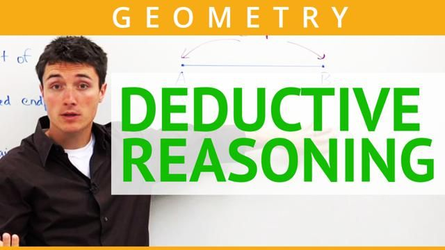 Time-saving video on how to define and recognize deductive reasoning as it is used in Geometry. Also, deductive reasoning is compared and contrasted to inductive reasoning.