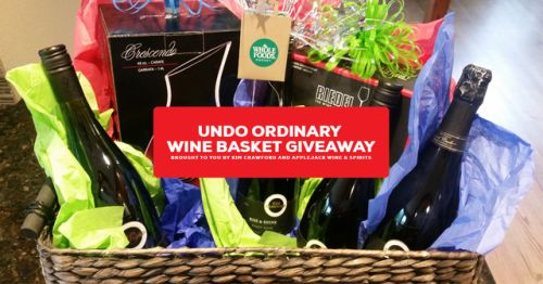 Enter to win an Undo Ordinary Wine Basket: 4 Bottles of Wine... sweepstakes IFTTT reddit giveaways freebies contests