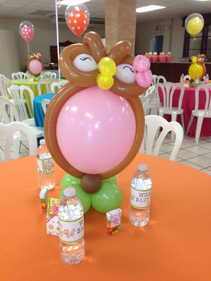 Best balloon centerpiece images on pinterest