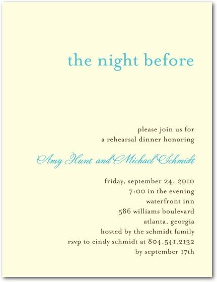 rehearsal dinner invitation wording ftb forthebride bride
