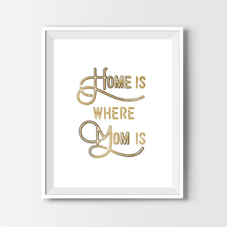 This is my favorite Mother's Day quote! Simply download it from the shop and print it in minutes!