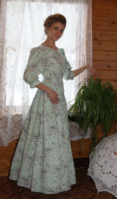 Wendy Dress comes in 2 lengths: boot length and floor length from Recollections