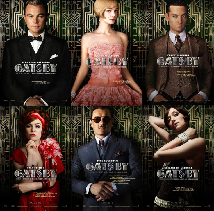 female characters of the great gatsby Female great gatsby journal though the great gatsby is a male dominated book, there are a few women who have great influences daisy buchannan is the main female character, having romantic relations with both tom buchanan and jay gatsby.