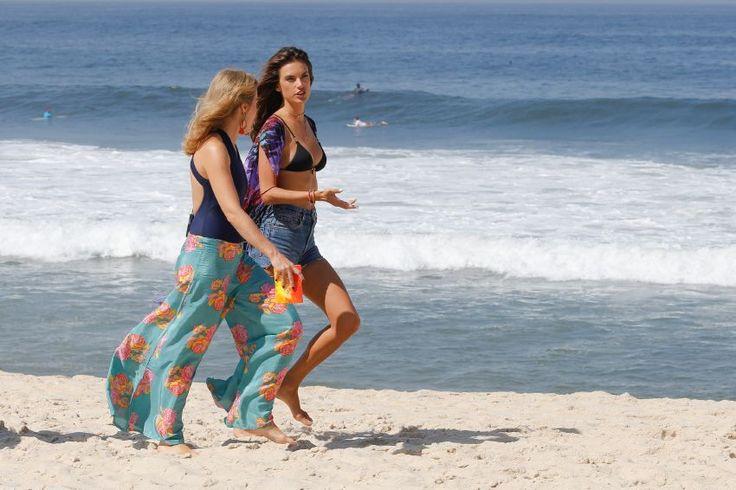 Alessandra Ambrosio – Filming for Brazilian TV Globo : Global Celebrtities (F) FunFunky.com