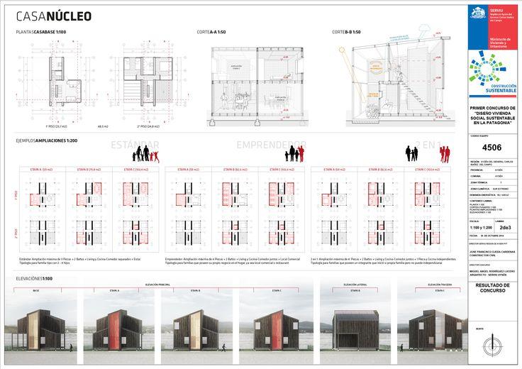 Galer a de primer lugar en concurso de dise o de vivienda - Disenos de viviendas ...