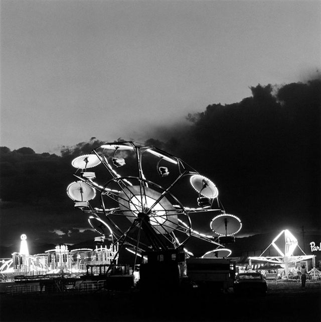 """Robert Adams The ride is a so-called """"Ski-Lift"""" or """"Twister"""" built by the German Schwarzkopf company in the 1960s or 1970s."""