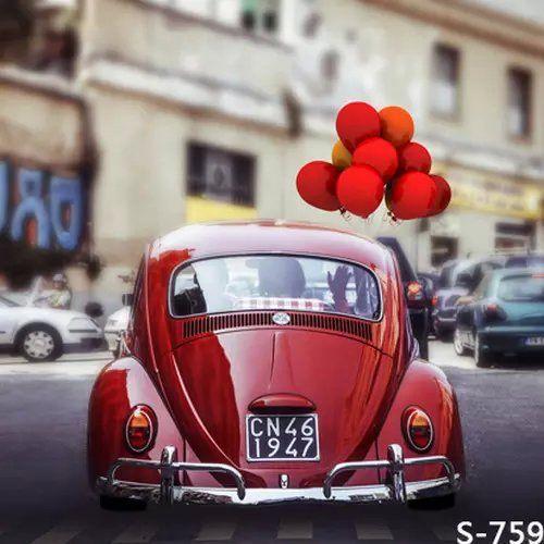 Купить товар5X7FT The Beatles сердца воздушные шары фотографии фоном для свадебных фотографий виниловых муслин цифровые обои ткань в категории Задний планна AliExpress.             Производство изображения                               Примечание                              Характеристик