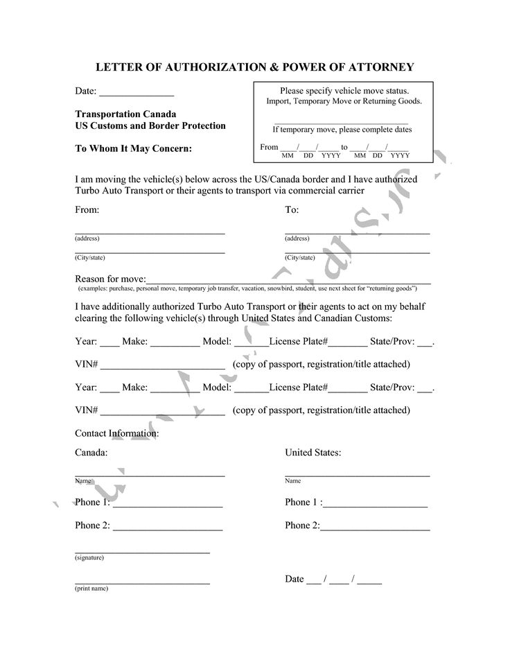 attorney form template power authorization letter sample - ngo bylaws template