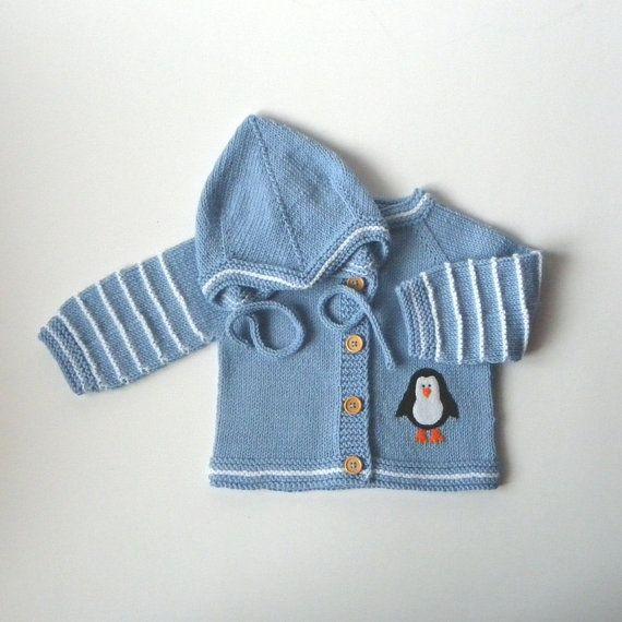 Traje de bebé punto set de ajuste hecho punto del bebé set