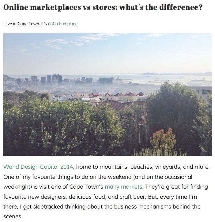 Online marketplaces vs stores: what's the difference?   http://hellopretty.co.za/blog/online-marketplaces-vs-stores-whats-the-difference