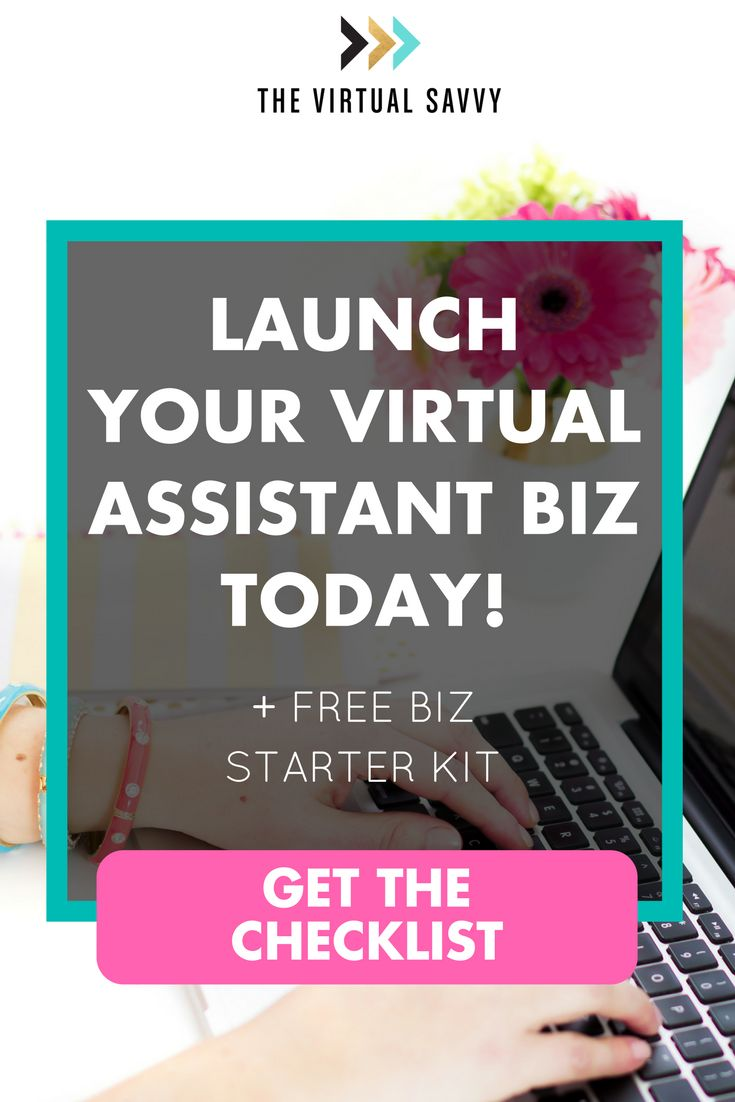 Launch Your Virtual Assistant Biz TODAY! You're just one step away from our FREE VA Biz Starter Kit and Checklist. Download the checklist now and get your business started today.