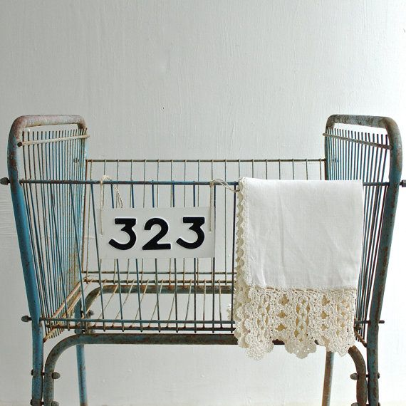 Vintage Industrial Hamper by lovintagefinds on Etsy