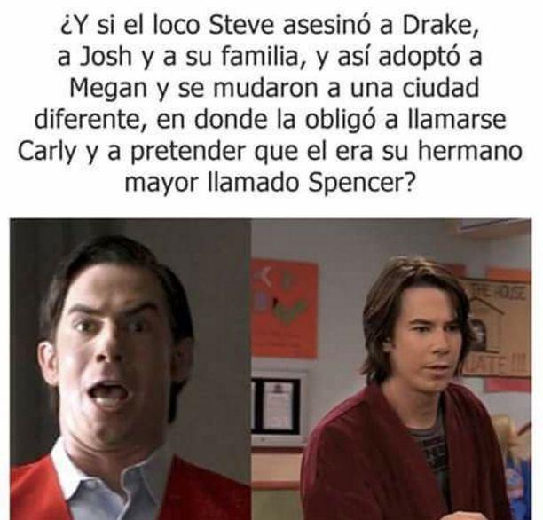 Admítelo, esta teoría pasó por tu mente cuando viste iCarly. | 24 Veces en las que tu vida fue un capítulo de Drake y Josh